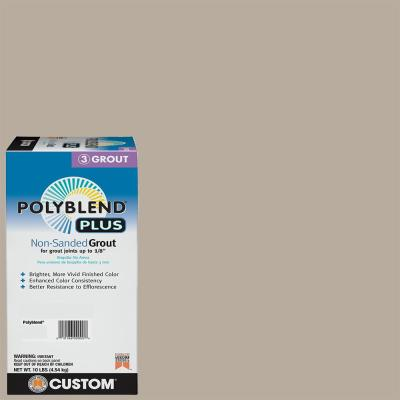 Polyblend Plus #386 Oyster Gray 10 lb. Non-Sanded Grout