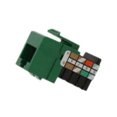 QuickPort CAT 3 Connector, Green