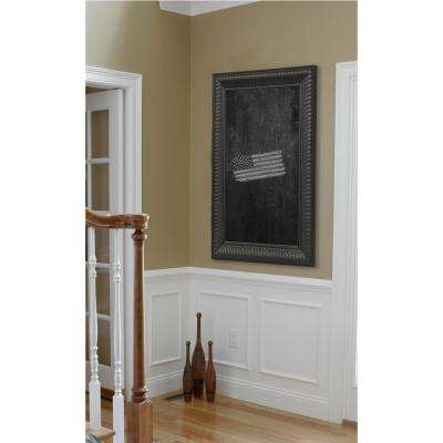 78 in. x 24 in. Royal Curve Blackboard/Chalkboard