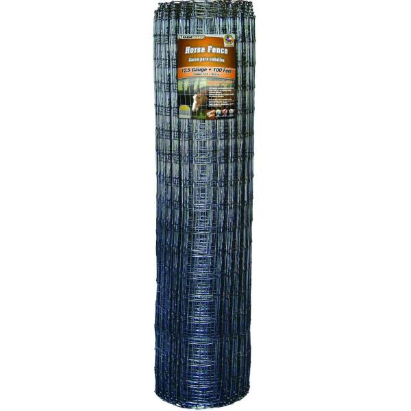 60 in. x 100 ft. Horse Fence with Galvanized Steel Class 1 Coating