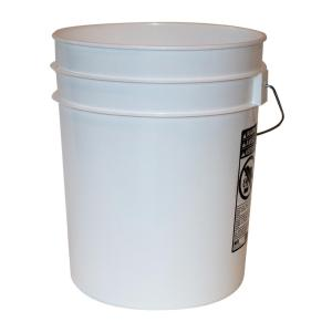 5 gal. White Pail (10-Pack)