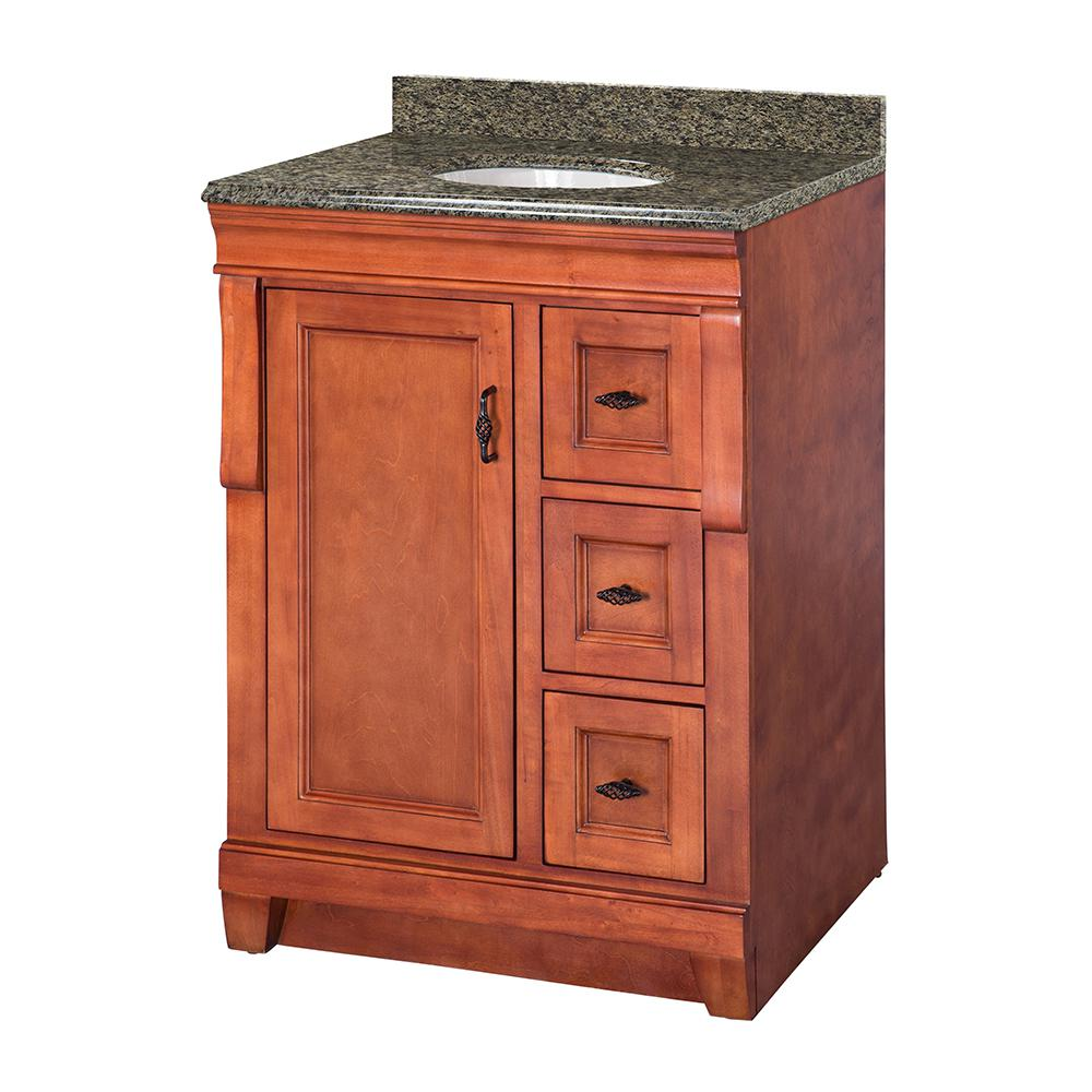 Naples 25 in. W x 22 in. D Vanity in Warm