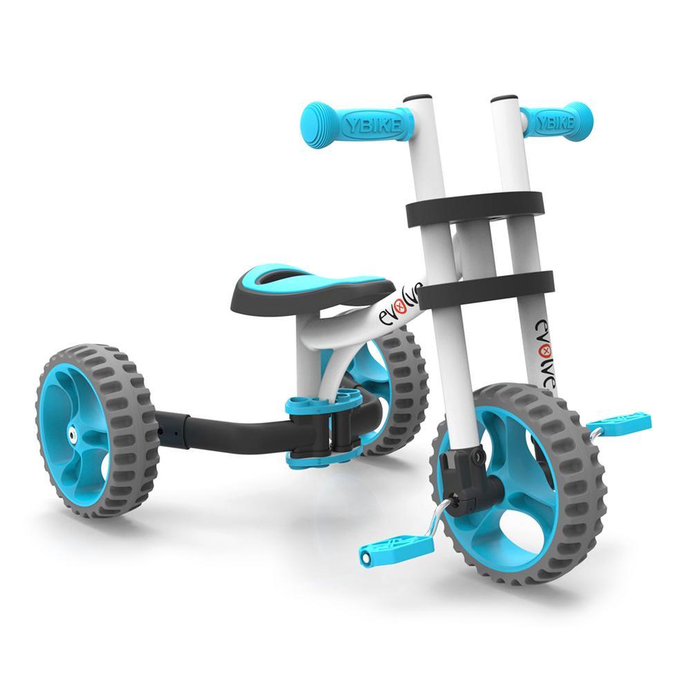 EVOLVE Balance Trike White Blue