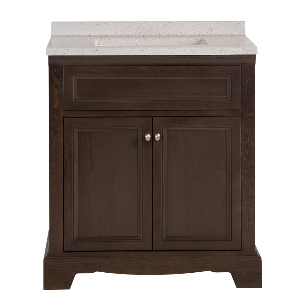 Home Decorators Collection Windsor Park In W X In D Vanity In Dusk With Solid