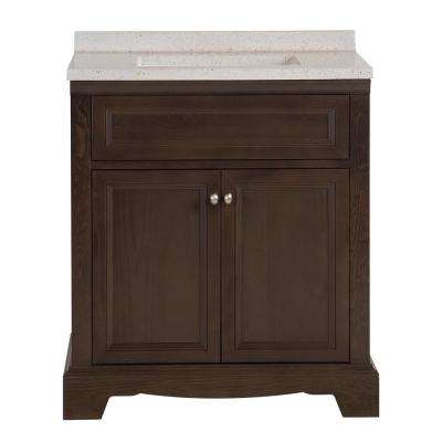 Windsor Park 31.57 In. W X 18.75 In. D Vanity In Dusk With Solid