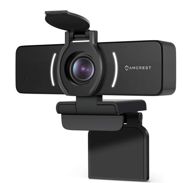 1080P USB Wired WiFi Webcam with Privacy Cover, USB Webcam for Live Streaming, Desktop and Laptop Webcam, Built-in Mic