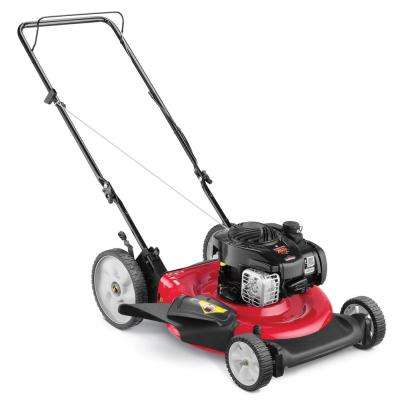 21 in. 140cc OHV Briggs & Stratton Walk Behind Gas Push Mower