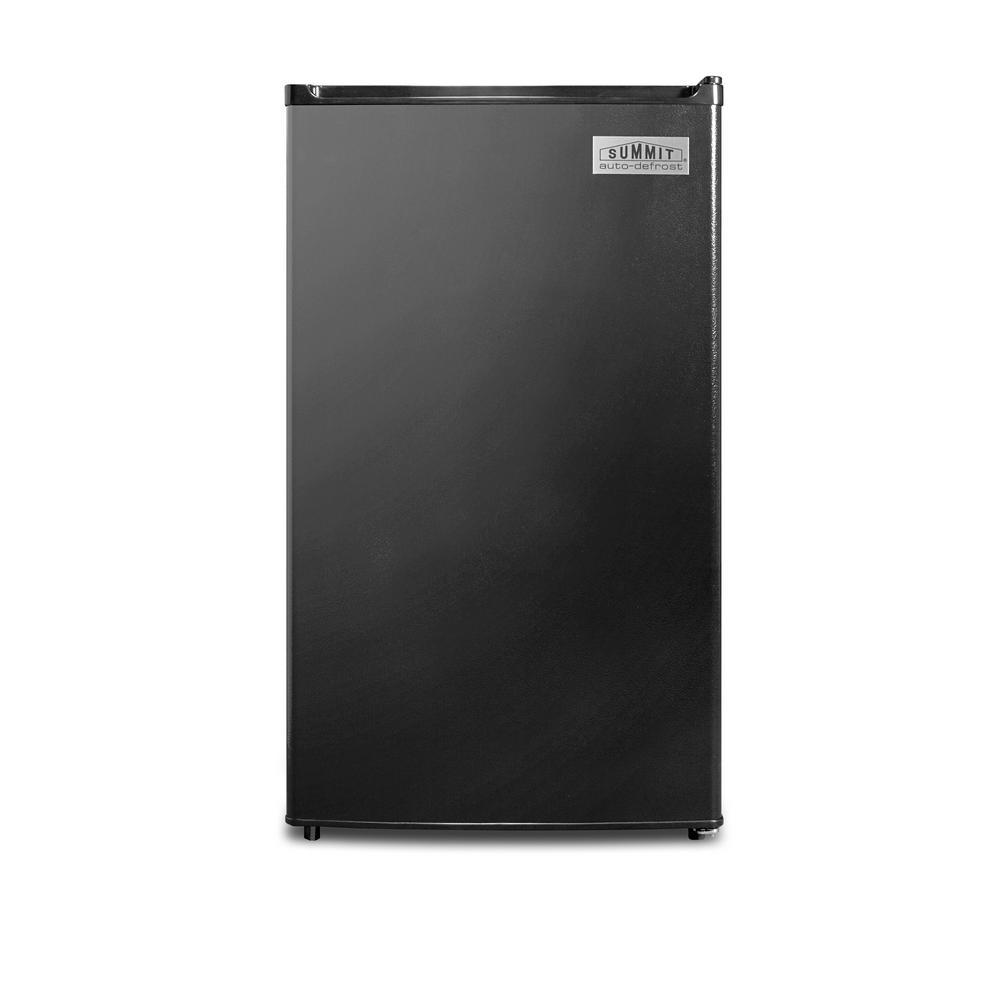 Summit 3.6 cu.ft. Mini Refrigerator in Black, Energy Star