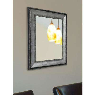 37 in. x 25 in. Sterling Charcoal Non-Beveled Vanity Wall Mirror