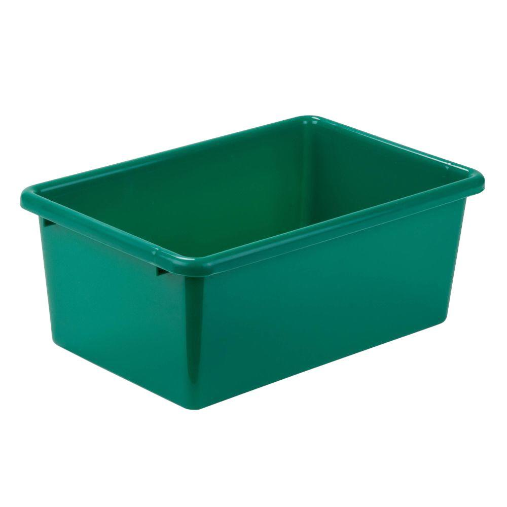 Honey Can Do 7.9 Qt. Storage Bin In Green