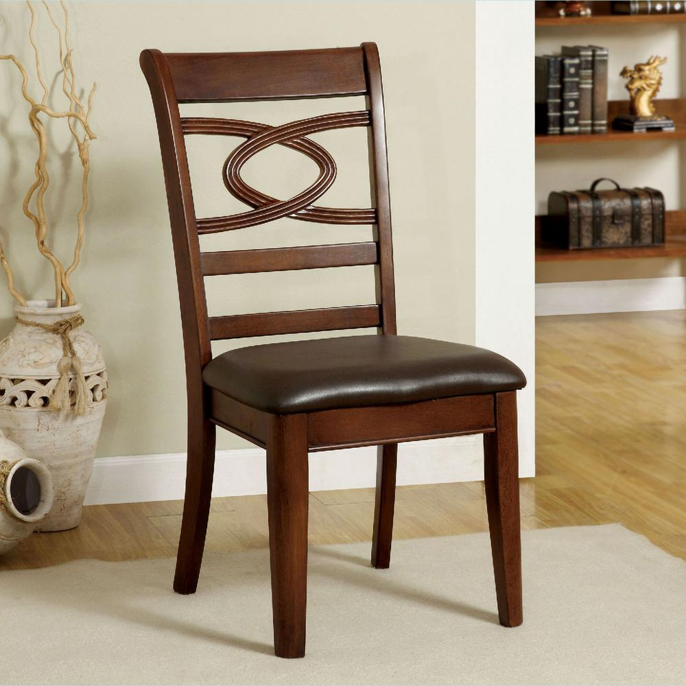 Cherry Dining Room Chairs: Venetian Worldwide Carlton Warm Cherry Dining Chair (Set