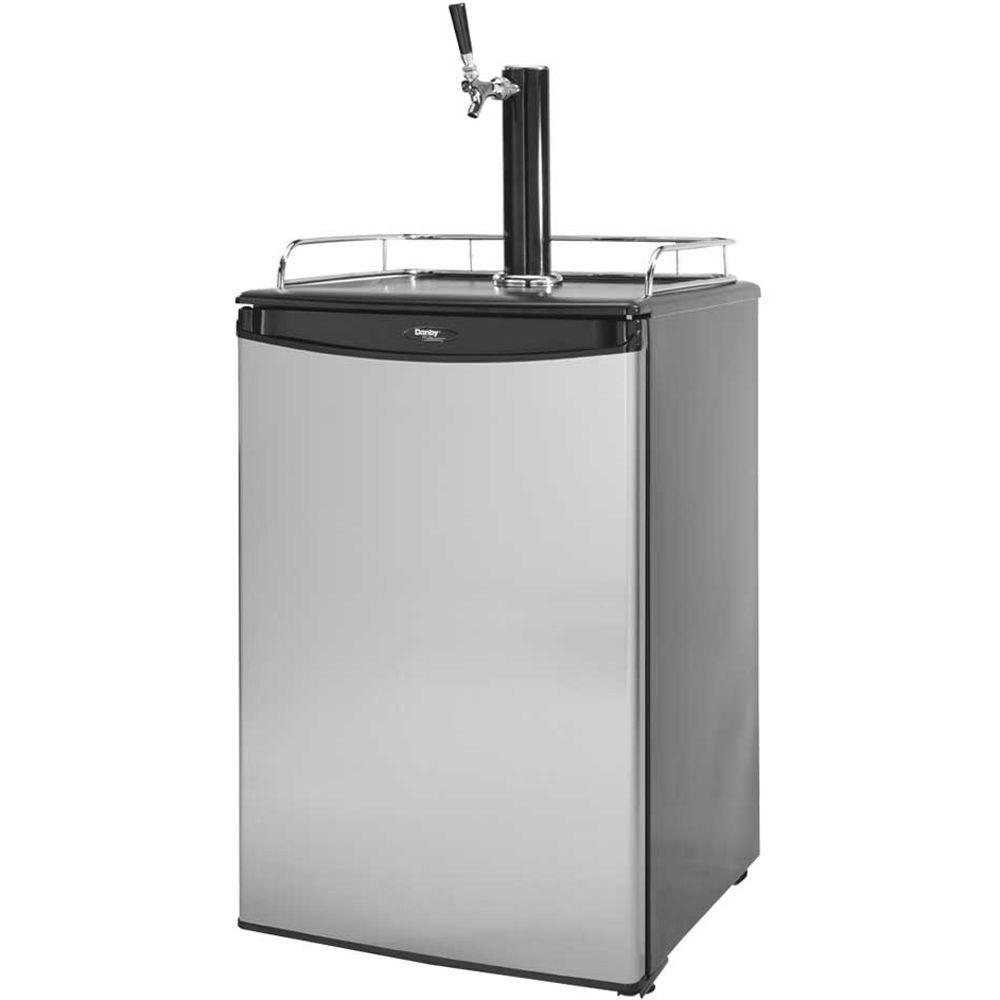 6 cu. ft. Built-In Beer Tap Refrigerator in Stainless Steel
