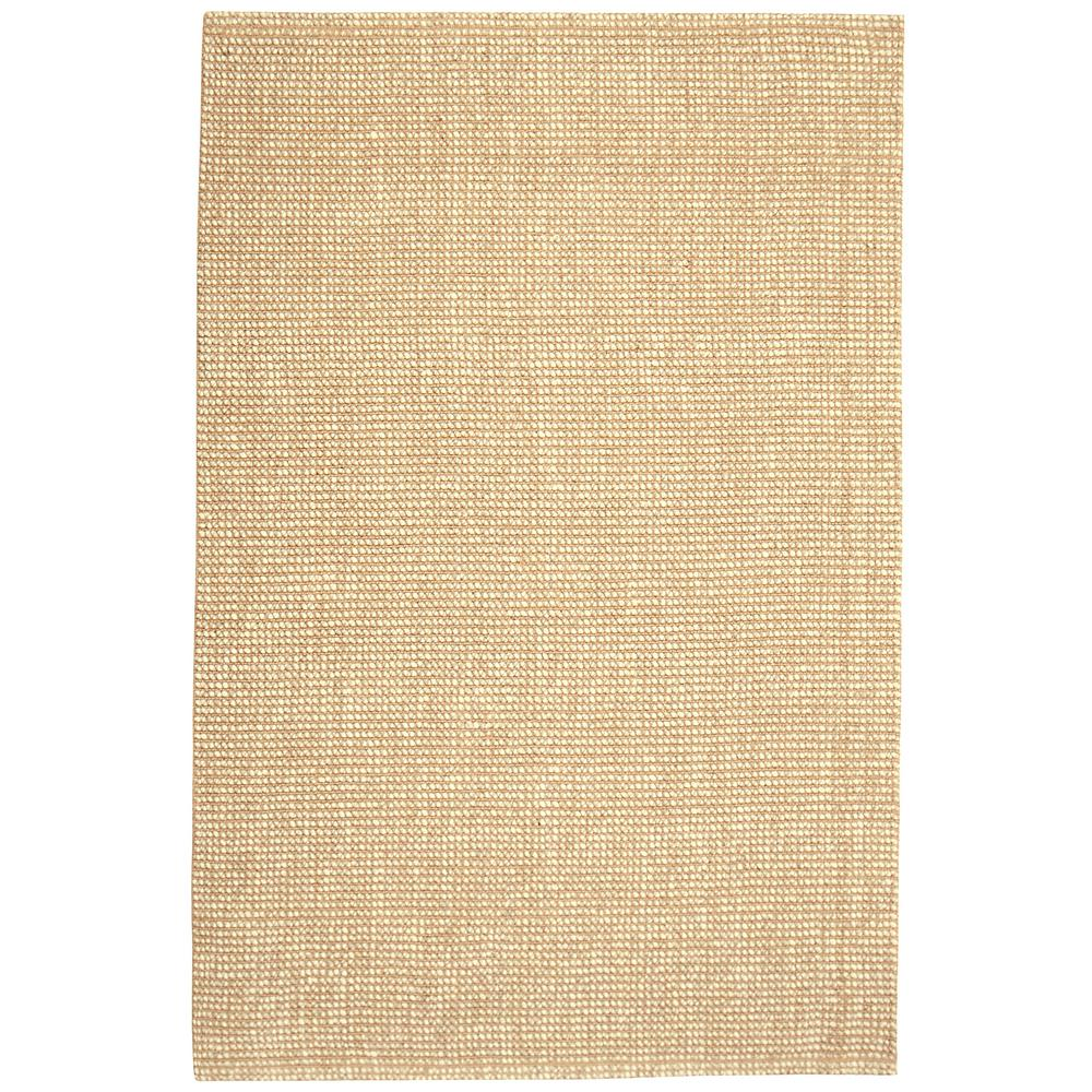 Zatar Wool and Jute Brown 2 ft. x 3 ft. Area