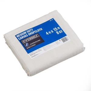 3 ft. 9 in. x 14 ft. 9 in. 8 oz. Canvas Drop Cloth