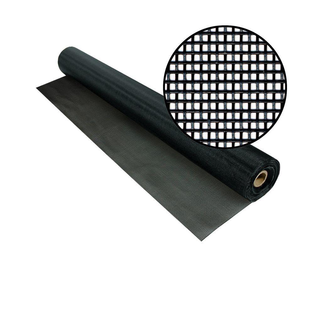 Phifer 48 in. x 100 ft. Black TuffScreen