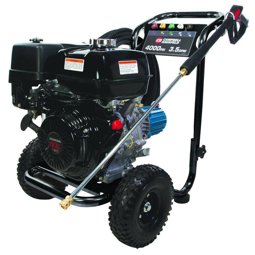 Campbell Hausfeld 4,000 psi 3.5 GPM CAT Pump Gas Pressure Washer