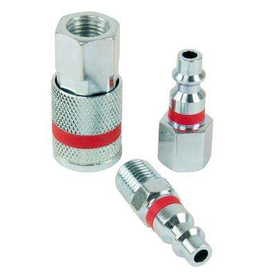 ColorMatch 1/4 in. I/M Coupler Plug Set (3-Piece)