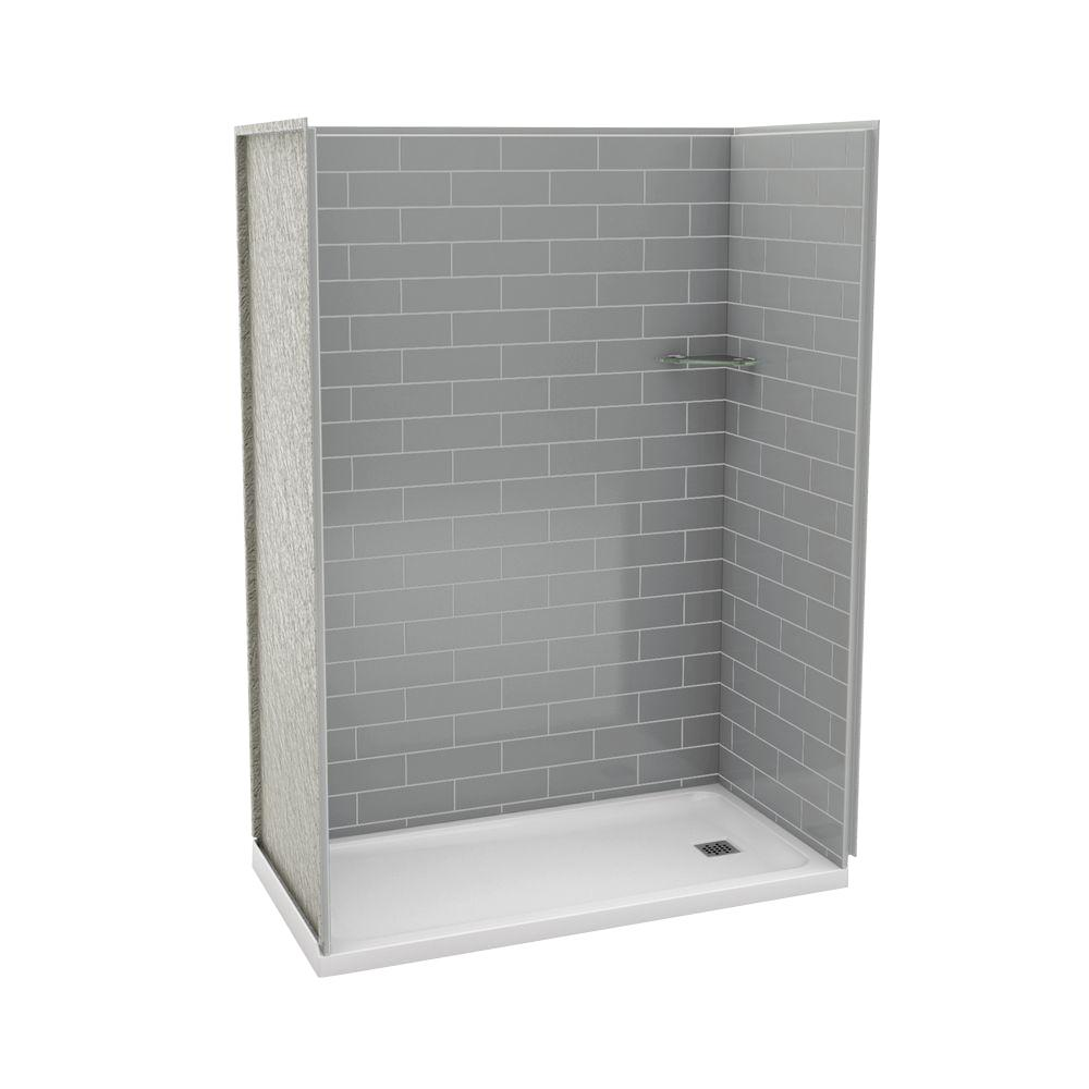 MAAX Utile Metro 32 in. x 60 in. x 83.5 in. Alcove Shower Stall in ...