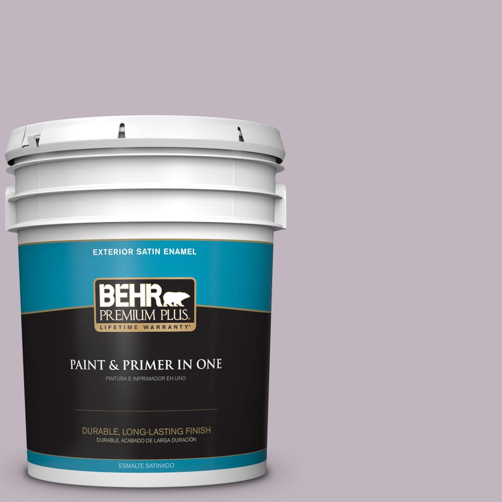 5 gal. #PPU16-09 Aster Satin Enamel Exterior Paint