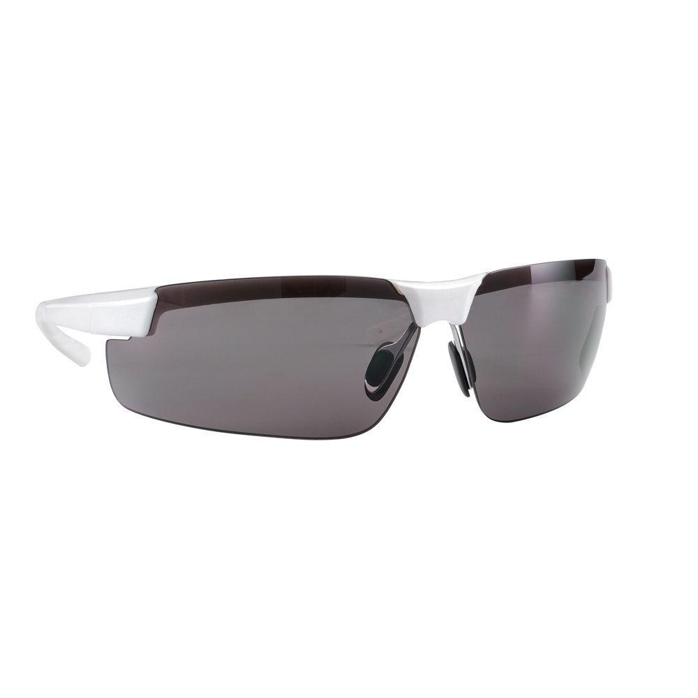 3M Metallic White Frame with Gray Anti-Fog Lenses Performance Safety ...