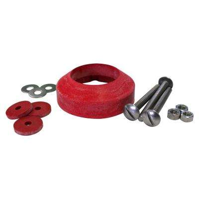 2 in. Toilet Tank to Bowl Gasket and Hardware Kit