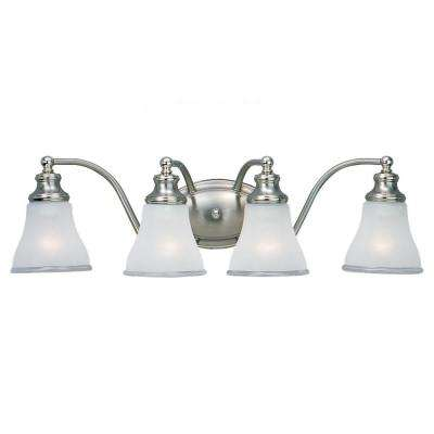 Alexandria 4-Light Two Tone Nickel Vanity Fixture