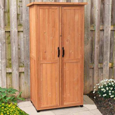 24 in. x 36 in. x 72 in. Vertical Storage Shed