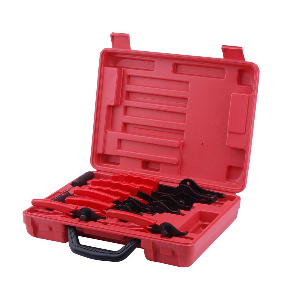 Snap Ring Pliers Set with Storage Case (11-Piece)