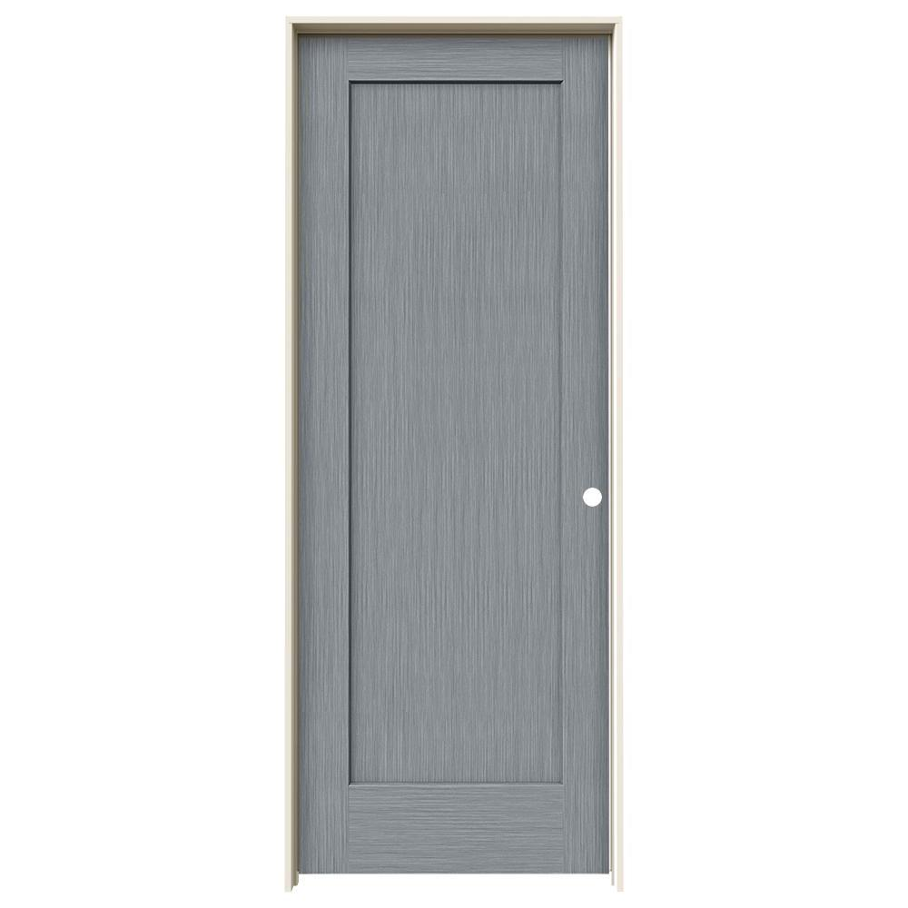 Merveilleux JELD WEN 32 In. X 80 In. Madison Stone Stain Left Hand