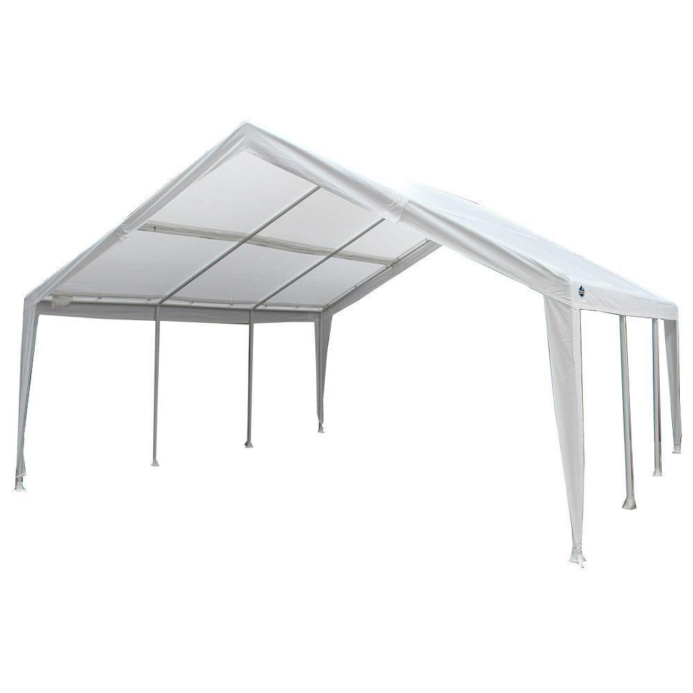 King Canopy EX1220 White Fitted Cover  sc 1 st  Home Depot & King Canopy EX1220 White Fitted Cover-TFC1220EX - The Home Depot