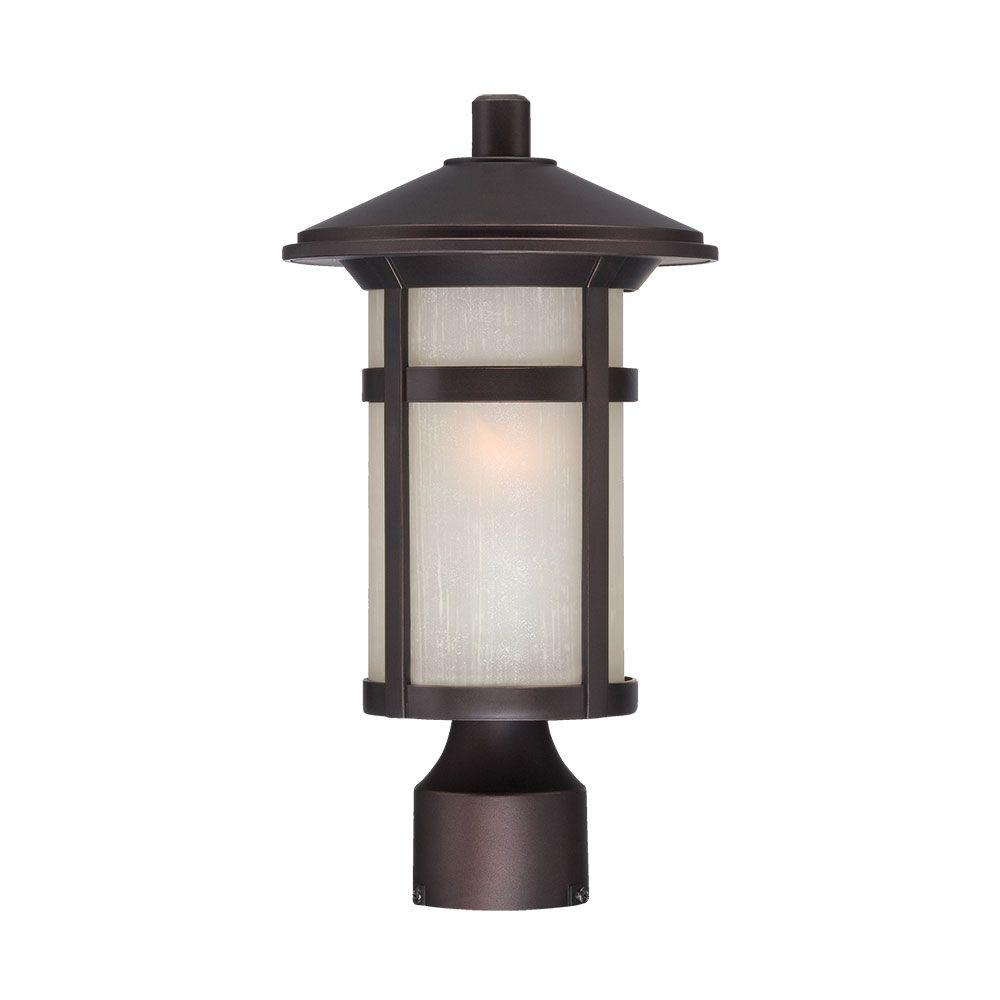 Acclaim Lighting Phoenix 1-Light Architectural Bronze Outdoor Post Lantern