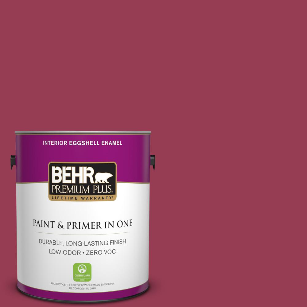 BEHR Premium Plus Home Decorators Collection 1-gal. #HDC-CL-04 French Rose Zero VOC Eggshell Enamel Interior Paint