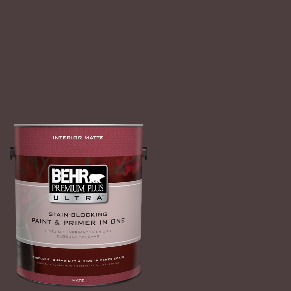 1 gal. #UL110-23 Polished Leather Interior Flat Enamel Paint