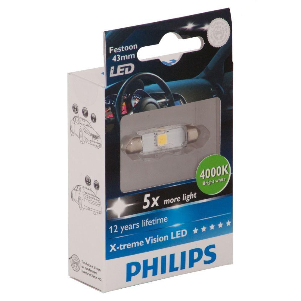 Philips LED Retrofit 4000K 41-43MM Interior Bulb (1-Pack)