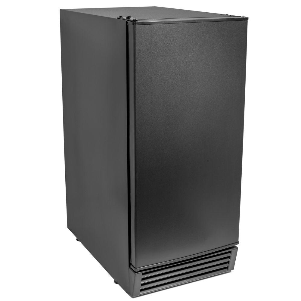 Maxx Ice 50 lb. Freestanding Economy Ice Maker in Black, ...