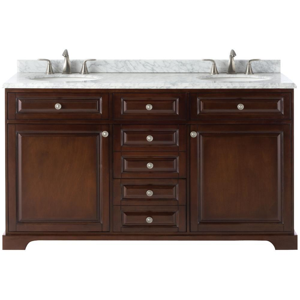modern bathroom vanities. D Double Bath Vanity Modern  Bathroom Vanities The Home Depot