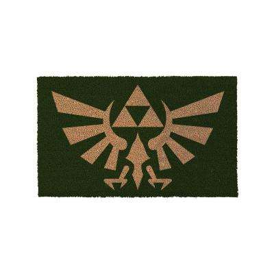 The Legend of Zelda Crest of Hyrule 29 in. x 17 in. Door Mat