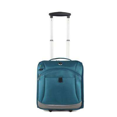 Basel Teal 14 in. Luggage Underseater