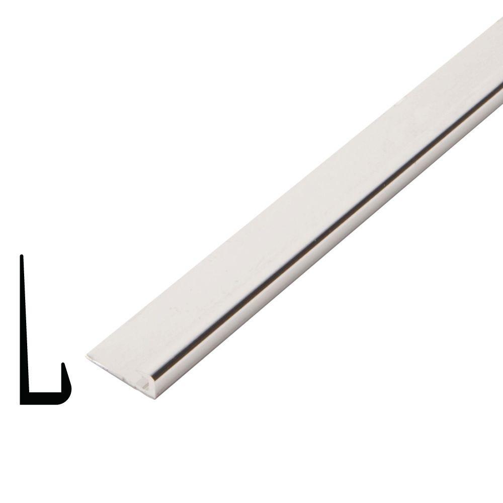 1/4 in. x 3/4 in. x 96 in. Metal Mira Lustre