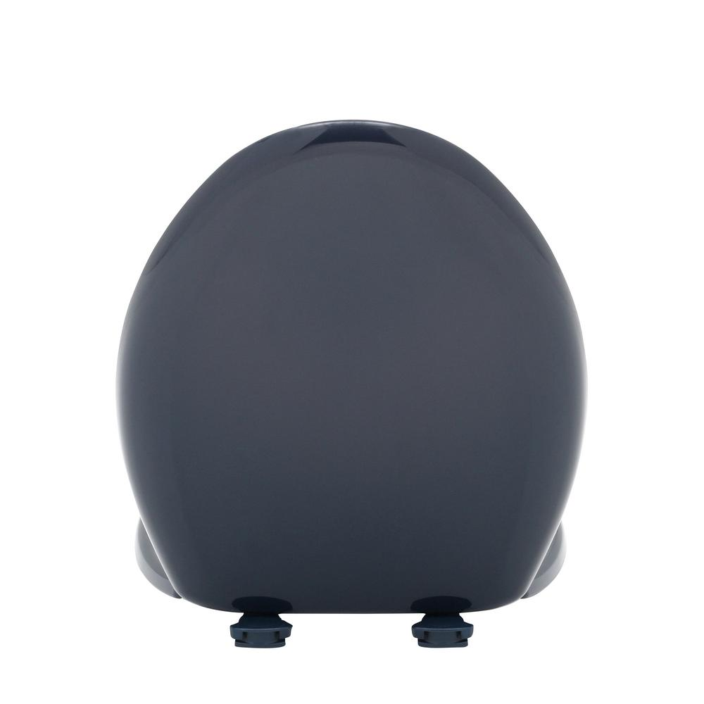 Bemis 1200SLOWT 244 Slow Sta-Tite Elongated Closed Front Toilet Seat Navy