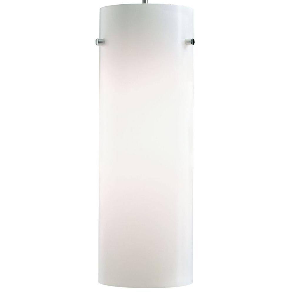 Juno 1-Light Opal LED Cylinder Pendant Kit