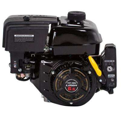 3/4 in. 6.5 HP OHV Electric Start Horizontal Keyway Shaft Gas Engine