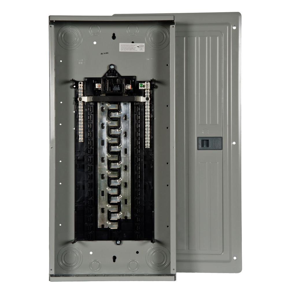 ES Series 125 Amp 30-Space 30-Circuit Main Breaker Indoor Load Center