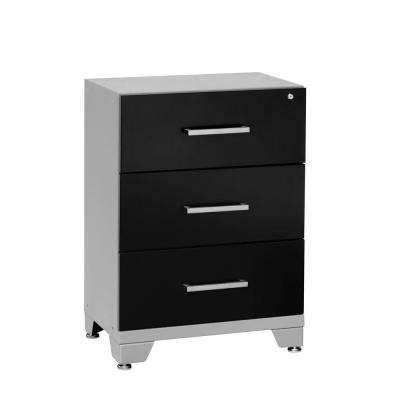 Performance 33 in. H x 24 in. W x 16 in. D 3-Drawer Steel Tool Chest in Black