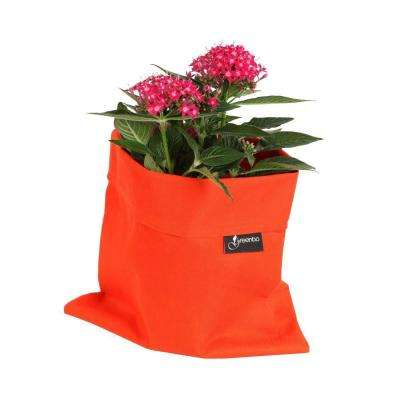 8 in. x 10 in. Orange Water and Stain Resistant Fabric Fiorina Planter Case (2 pack)
