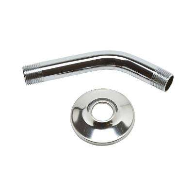 Shower Arm and Flange Kit in Chrome