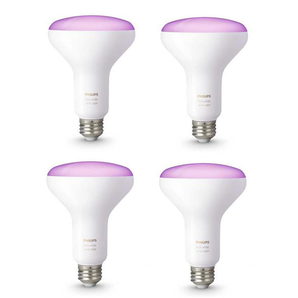 Philips Hue White and Color Ambiance BR30 LED 65W Equivalent