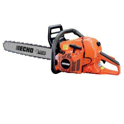 20 in  59 8 cc Gas 2-Stroke Cycle Chainsaw