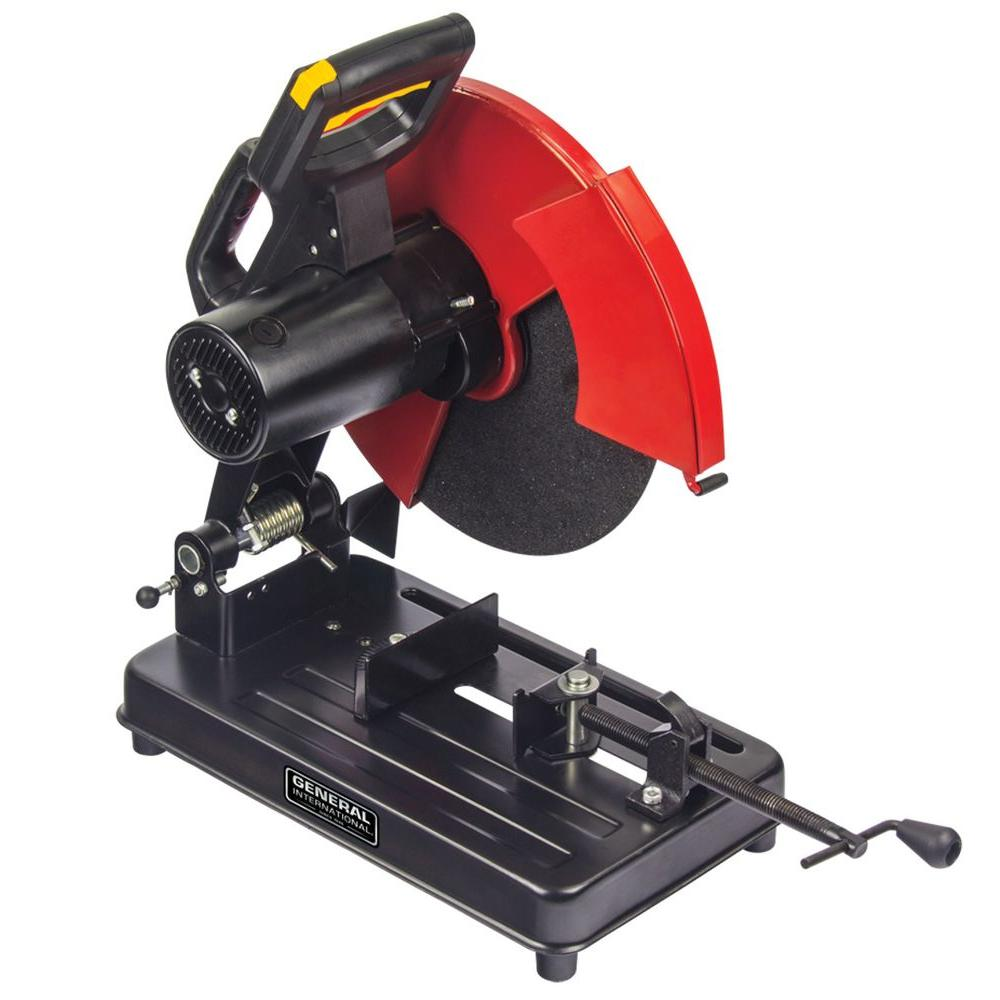 metal cutting saw general international 15 amp 14 in metal cut saw 10719