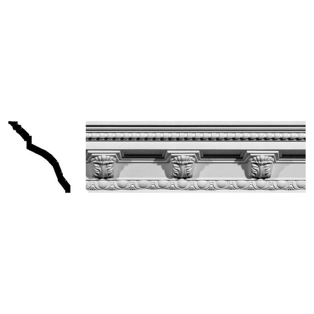 5-1/4 in. x 5-1/4 in. x 94-1/2 in. Polyurethane Attica Acanthus